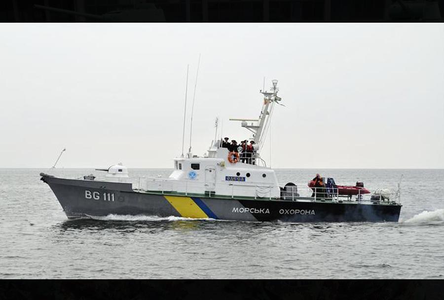 Ukrajinski patruljni čoln razreda zhuk