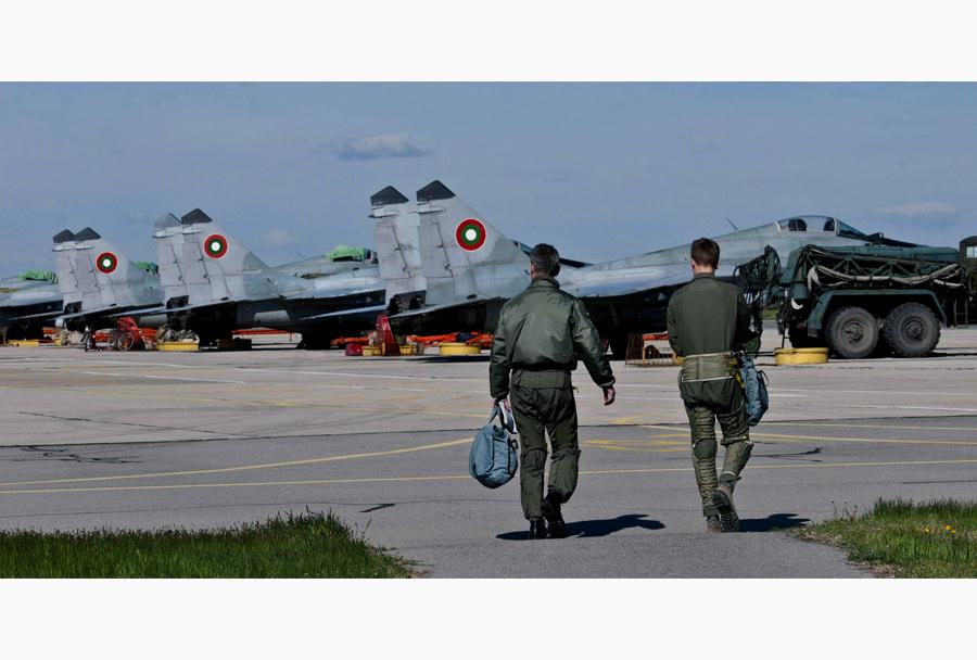 Bolgarski lovci MiG-29