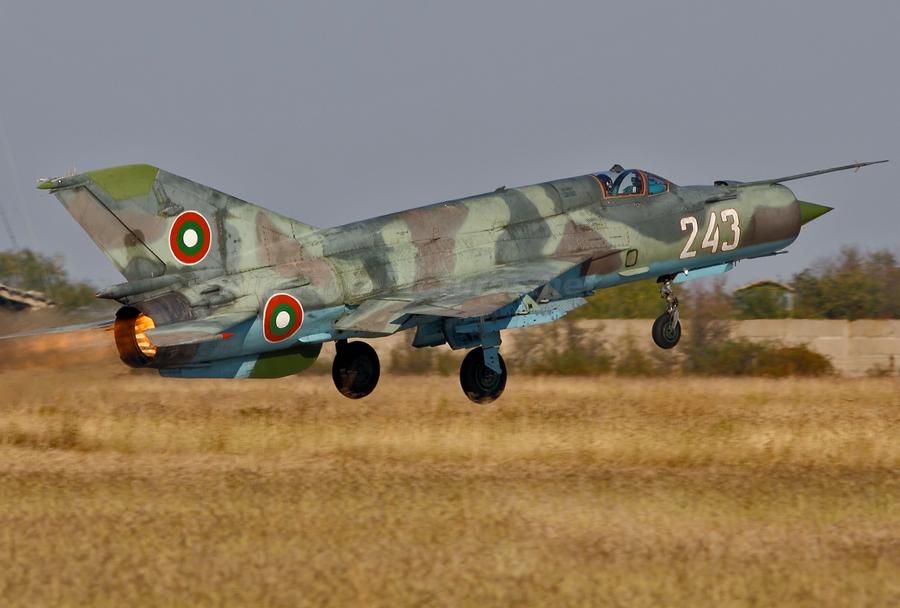 Bolgarski lovec MiG-21