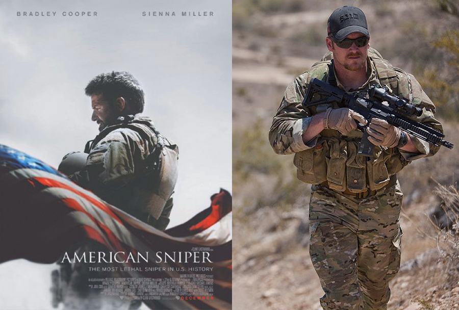 Vojni film American Sniper (2014) in Chris Kyle