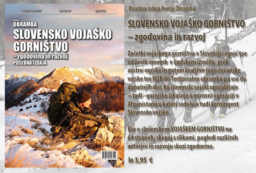 Slovesnko vojaško gorništvo