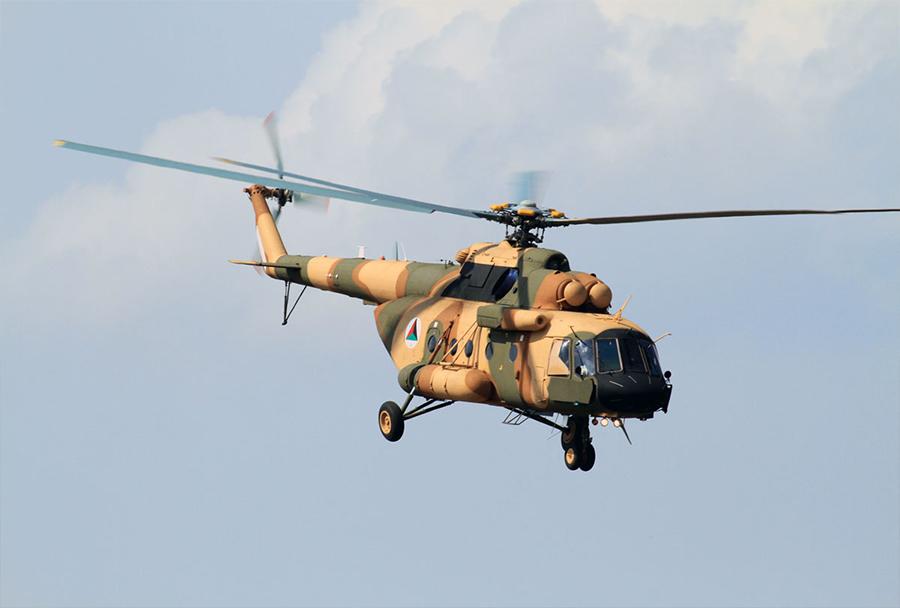 Afganistanski helikopter Mi-17V-5 ANA
