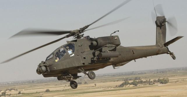 Ameriški jurišni helikopter AH-64 apache