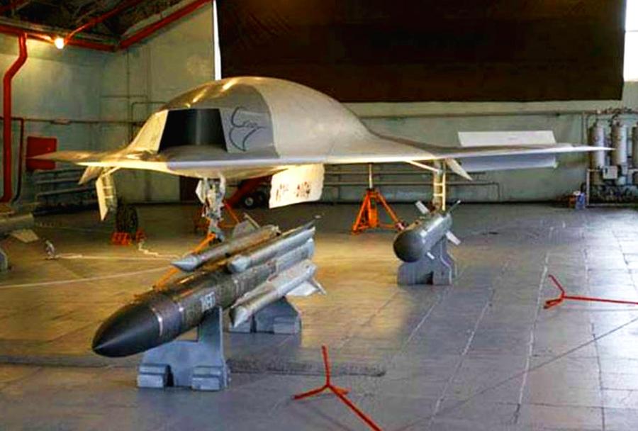 brezpilotno letalo MiG skat - 6. generacija