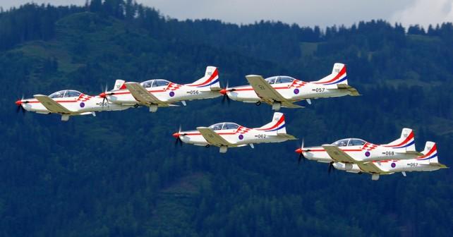 Hrvaška letala PC-9 - Krila oluje