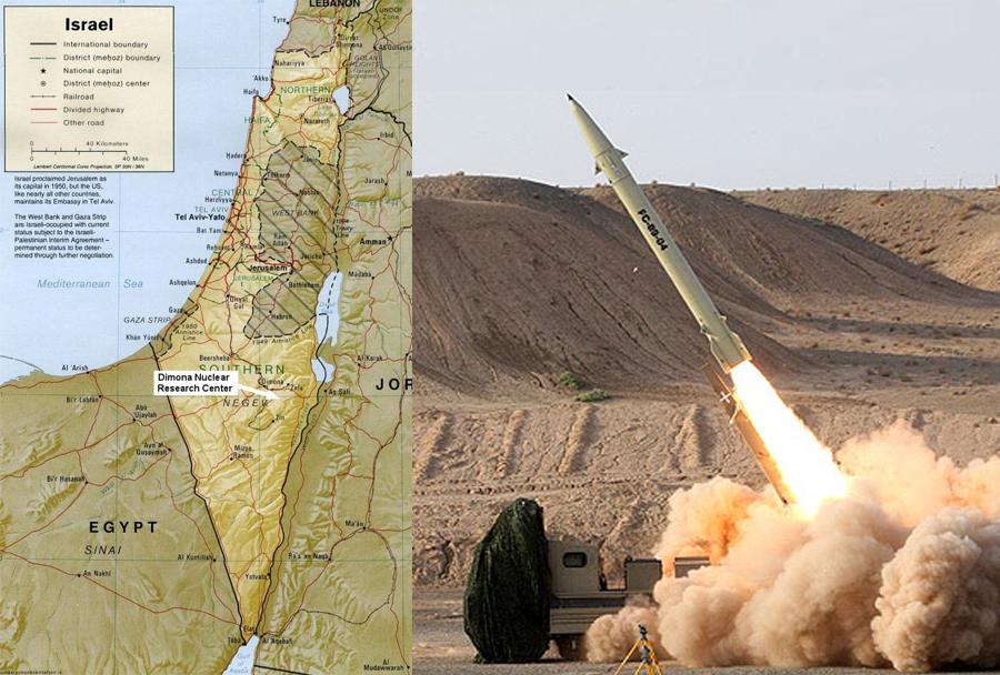 Iranska raketa zemlja-zemlja fateh-110 za Hezbolah