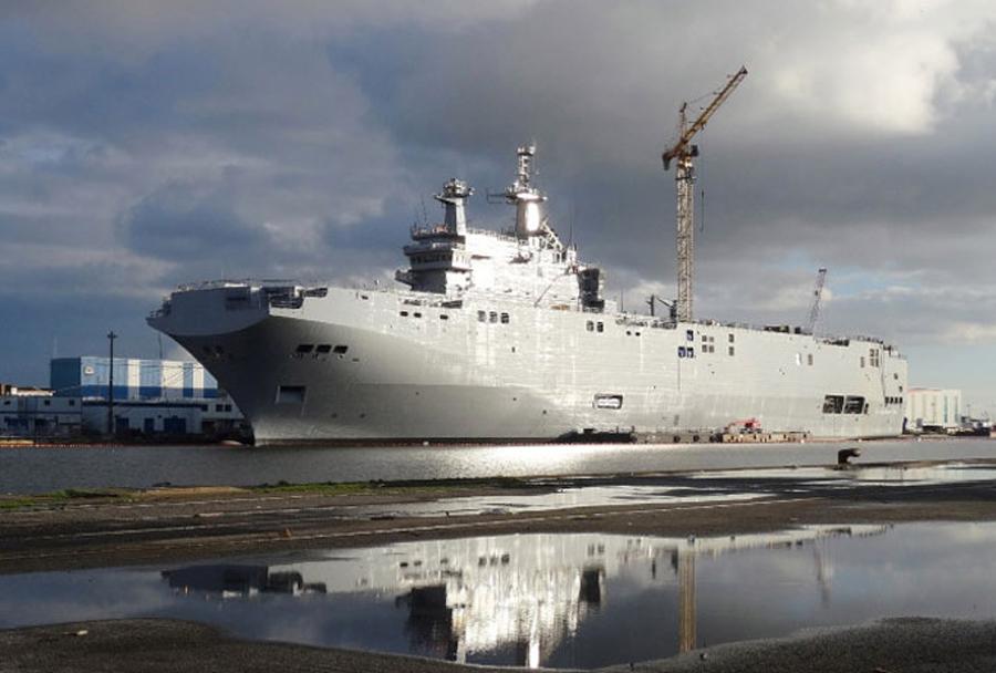 Amfibijsko-desantna ladja Vladivostok razreda mistral