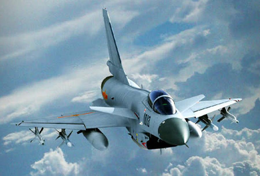 Lovec J-10 chengdu