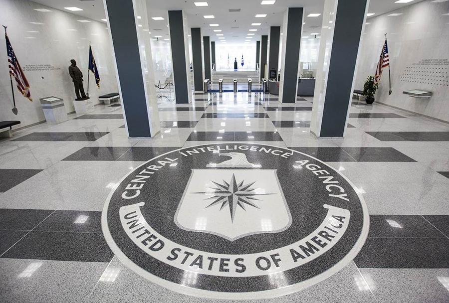 Sedež agencije CIA v Langleyju v Virginiji