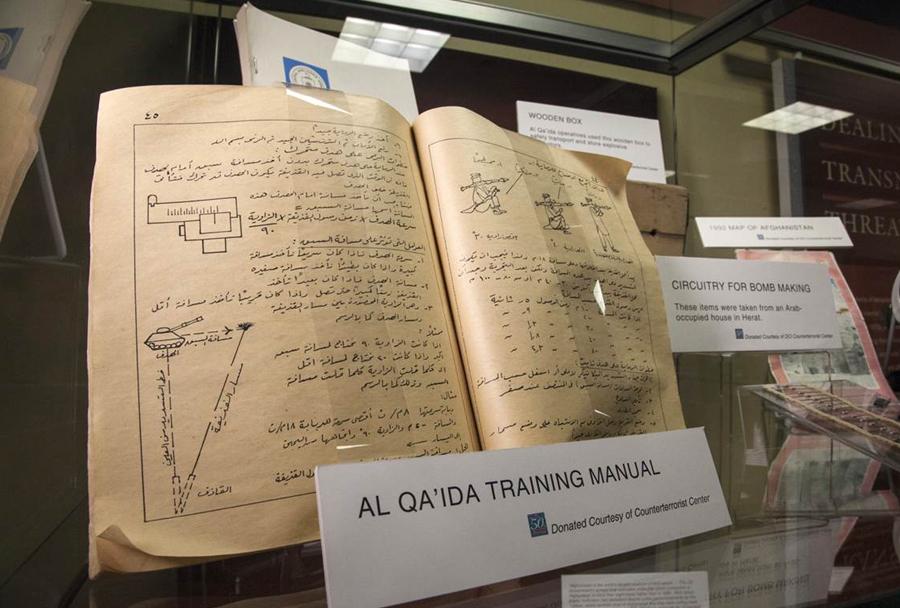 Muzej CIA: Al-Kaida - priročnik za urjenje