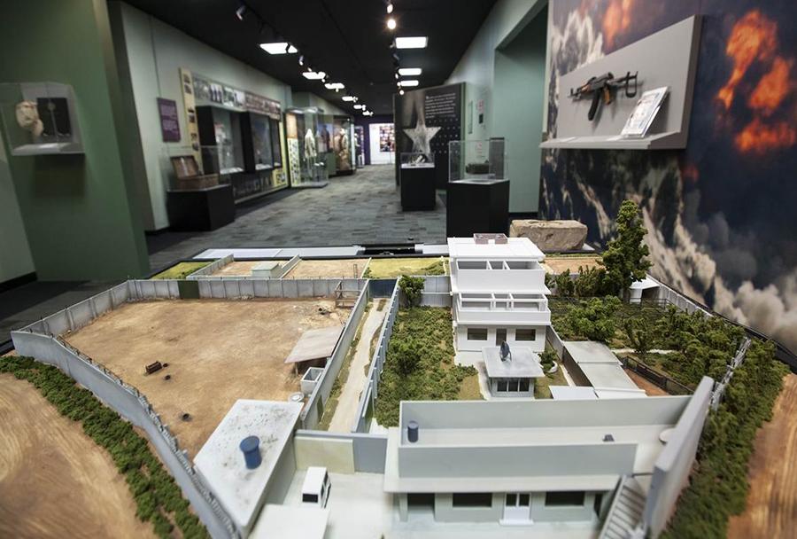 Muzej CIA: model skrivališča Osame bin Ladna v Abbottabadu