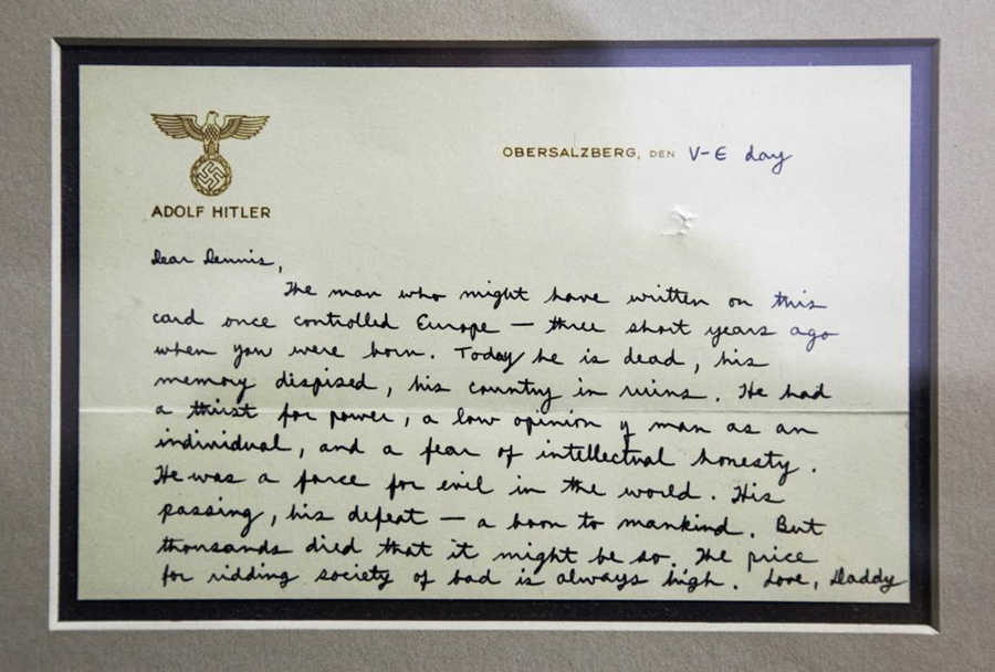 Muzej CIA: pismo pripadnika SS iz 2. svetovne vojne