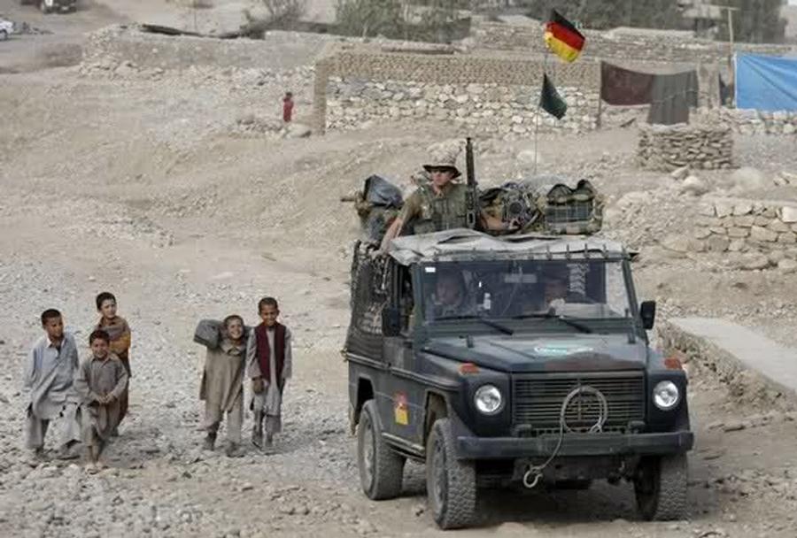 Nemško vojaško terensko vozilo wolf