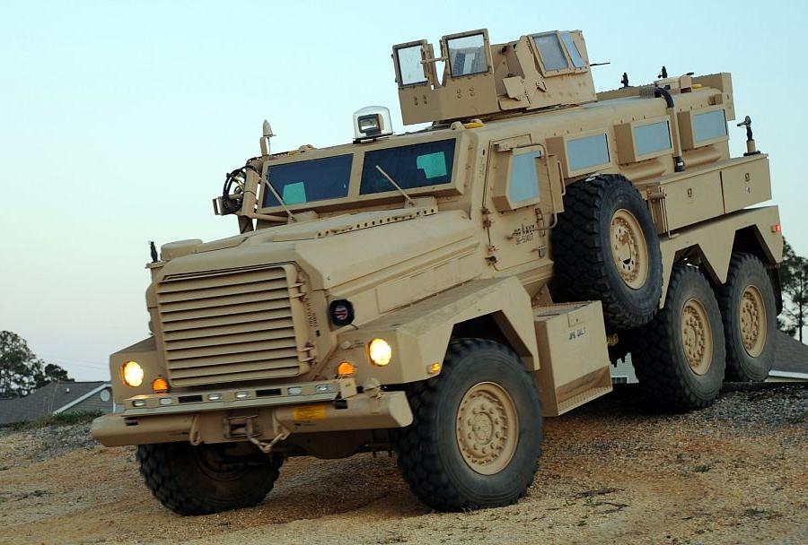 MRAP cougar cat II 6x6