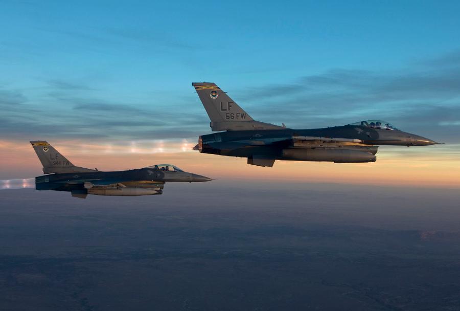 Par lovcev F-16
