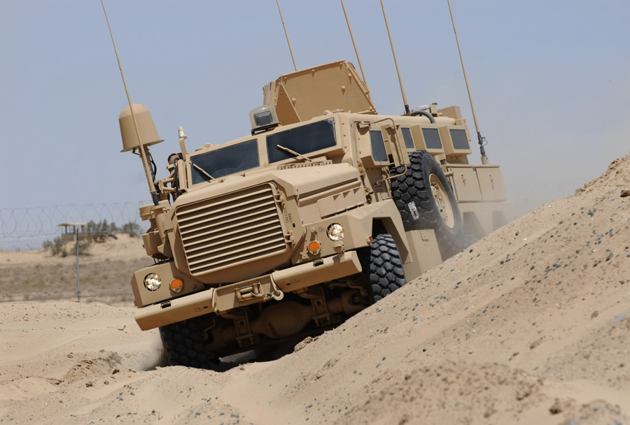 MRAP cougar cat II 6x6