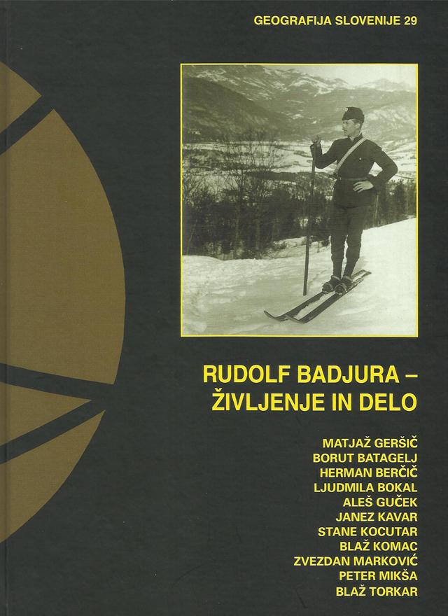 Knjiga Rudolf Badjura- življenje in delo