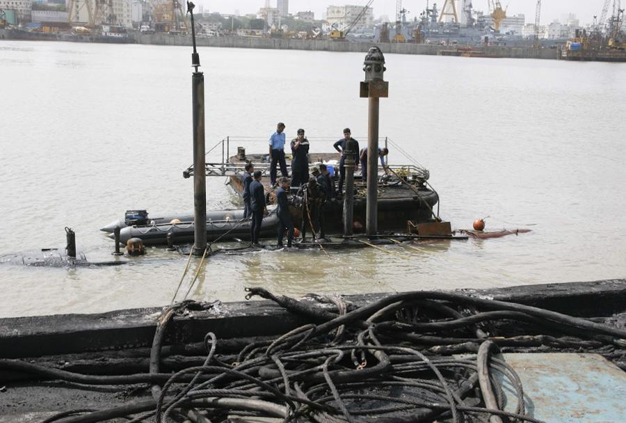 Potopljena indijska podmornica INS Sindhurakshak
