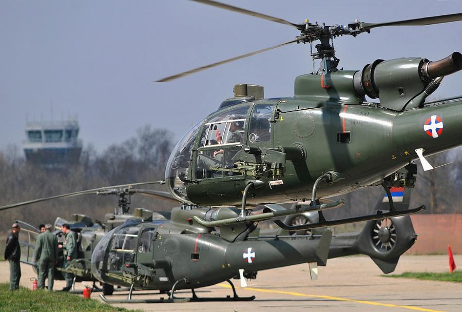 Srbski helikopterji gazela