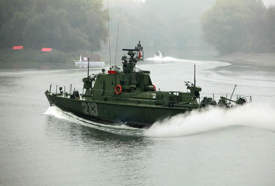 Srbska vojska  -patruljni čoln