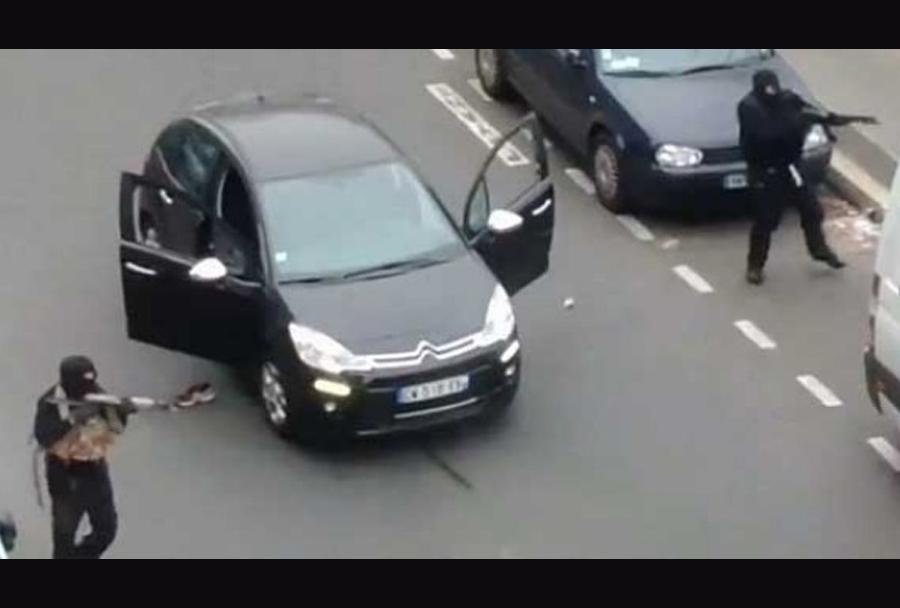 Napad na uredništvo časopisa Charlie Hebdo