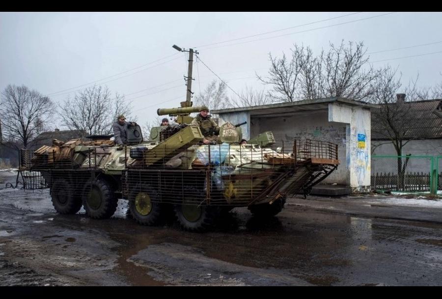 Pripadniki Ukrajinske vojske