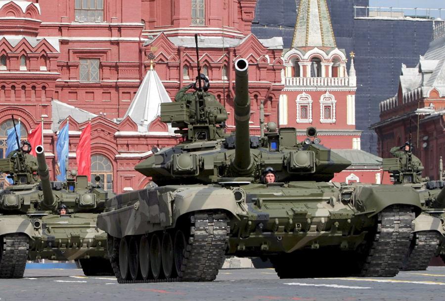 Ruska vojska na Rdečem trgu