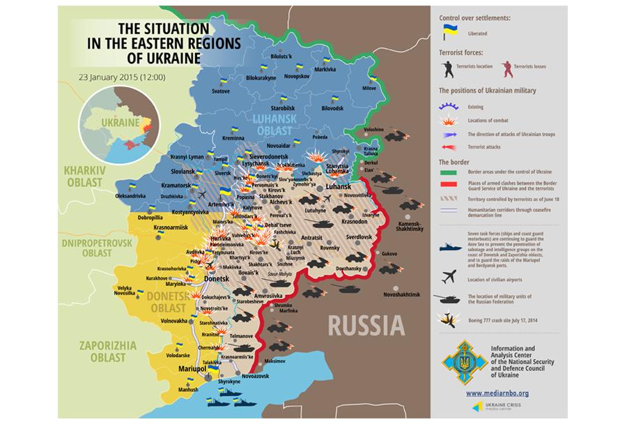 Situacija v Ukrajini (jan 2015)