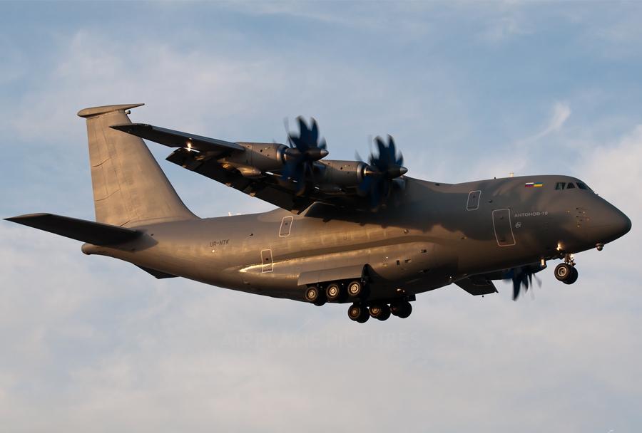 Vojaško transportno letalo An-70