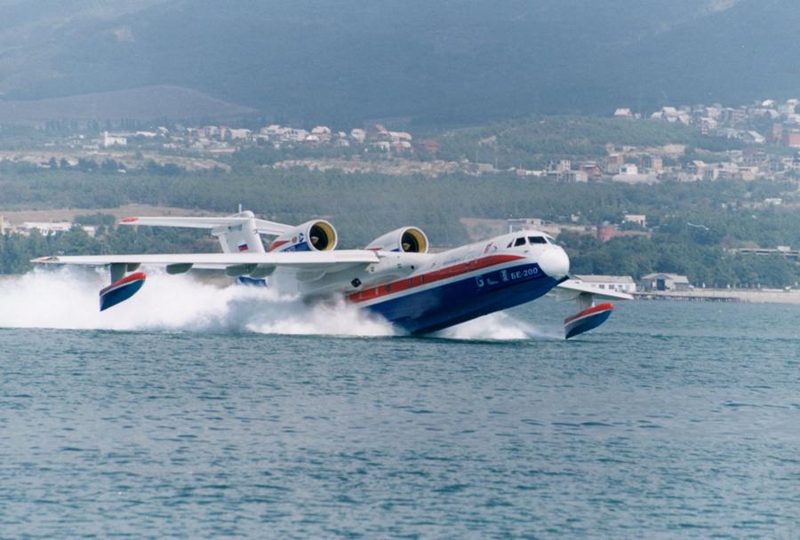 Rusko amfibijsko letalo Beriev Be-200