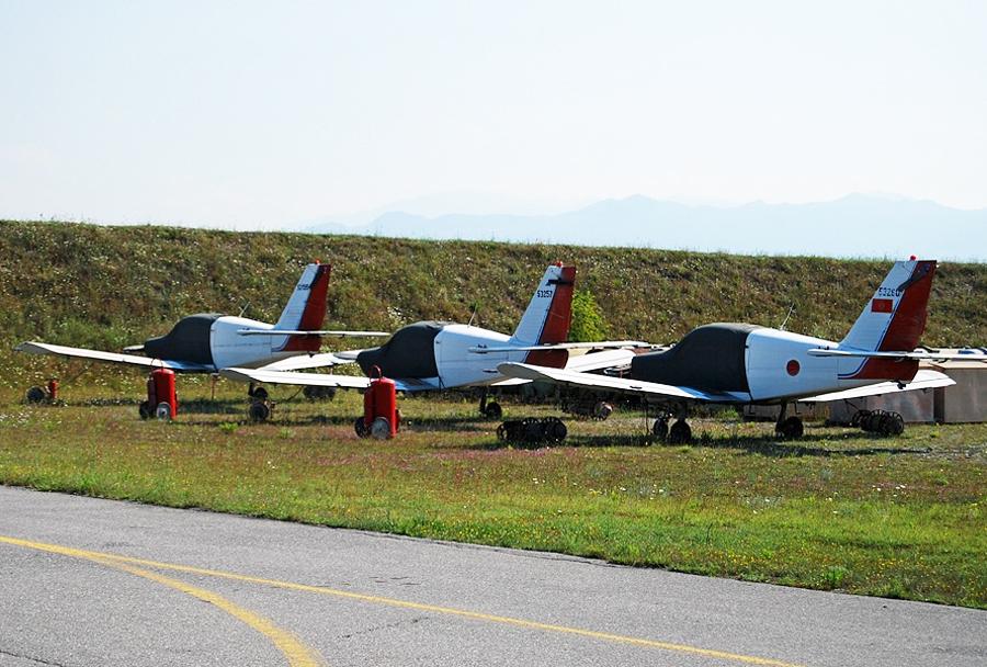 Črnogorska letala Utva-75