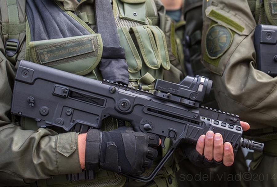 Jurišna puška fort-224 - ukrajinska Narodna garda