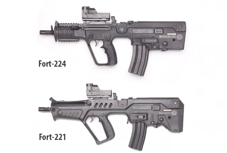 Ukrajinska jurišna puška fort-224 in fort-221