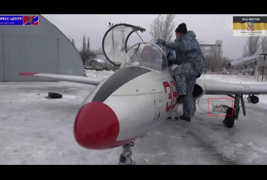 Proruski separatisti predstavili letalo Aero L-29