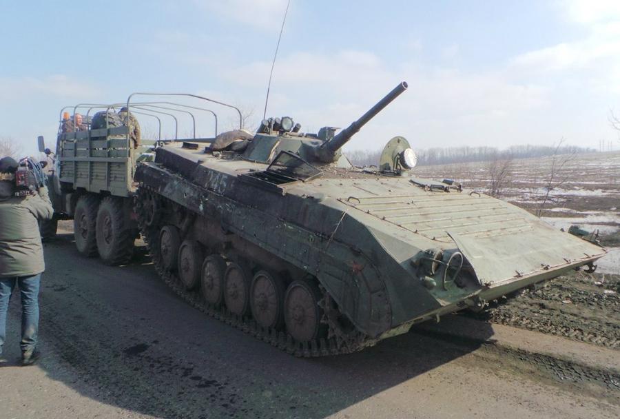 Proruski separatisti - BMP-1