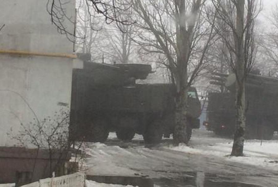 Ruski protiletalski sistem pancir-S1 (Ukrajina)