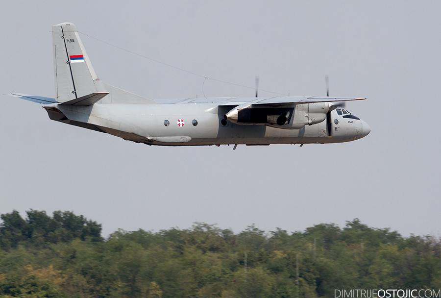 Srbsko transportno vojaško letalo An-26