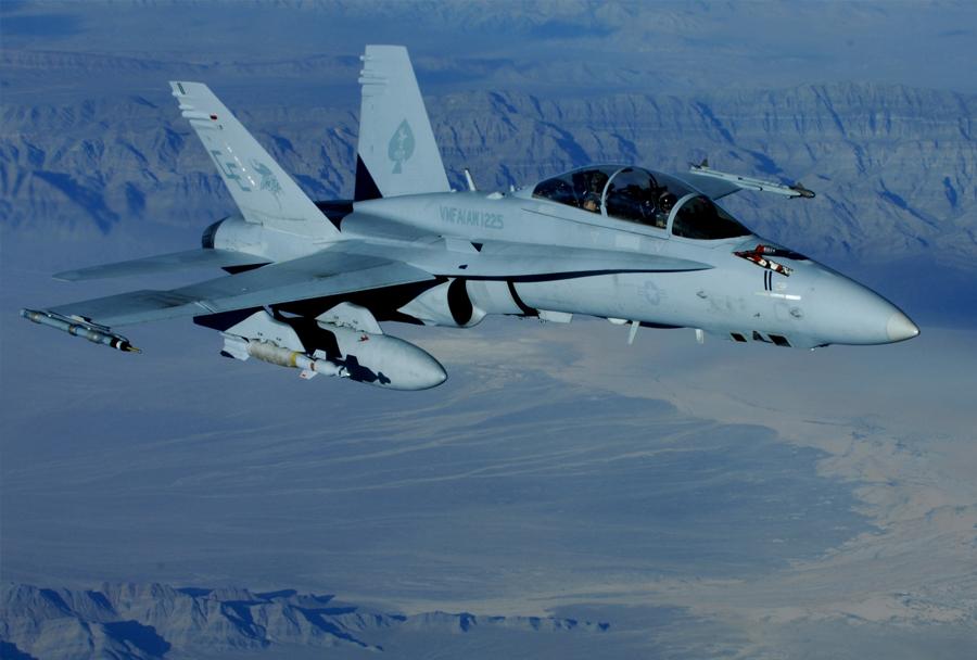 Strmoglavil ameriški lovec F-16