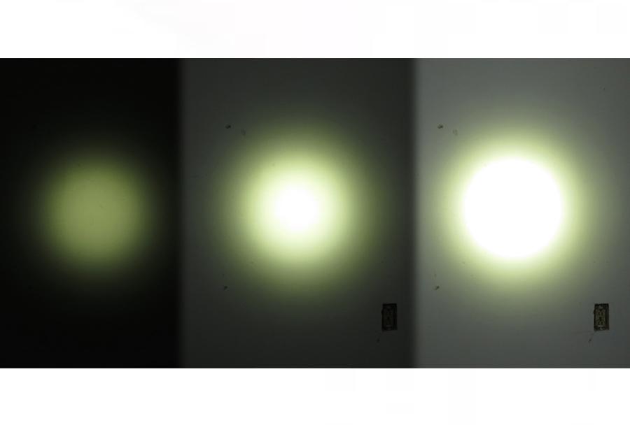 Naglavna LED svetilka Olight H25 wave - tri svetilnosti