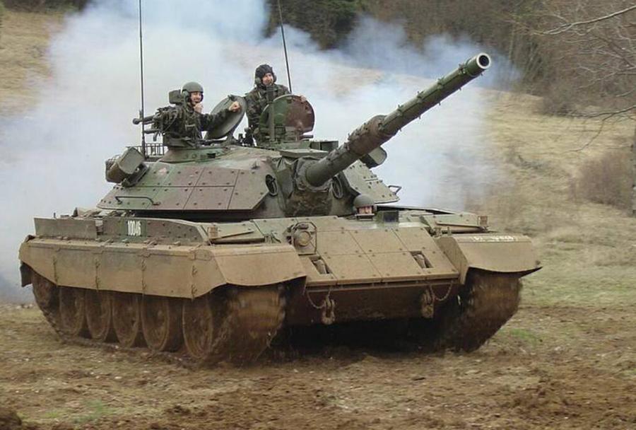 Tank M55S - Slovenska vojska