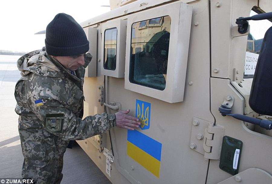 Novi ukrajinski oklepniki humvee