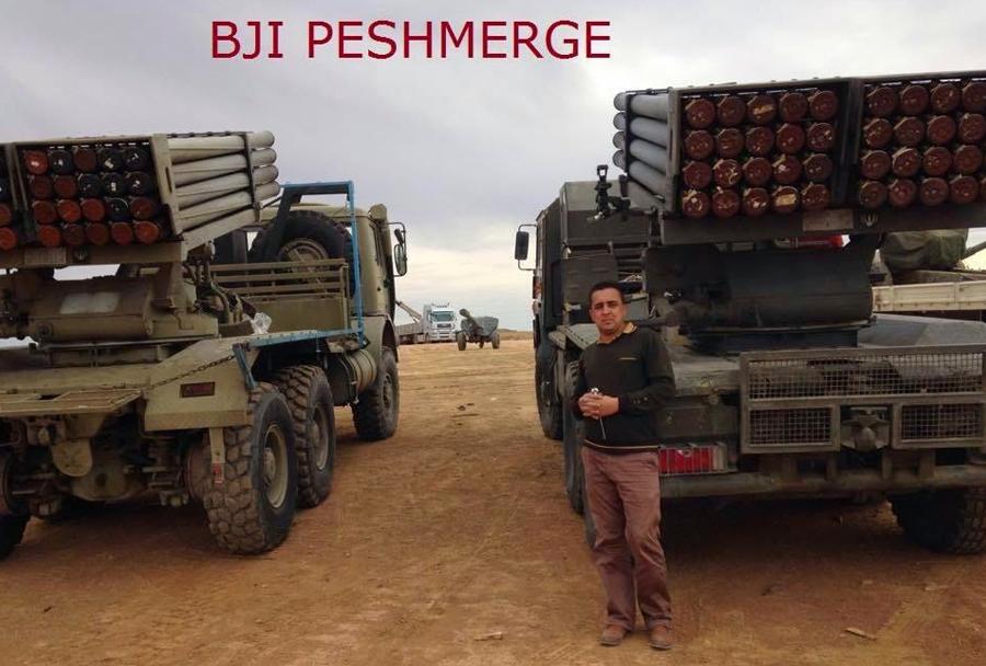 Iranski raketomet HM20 hadid v Iraku