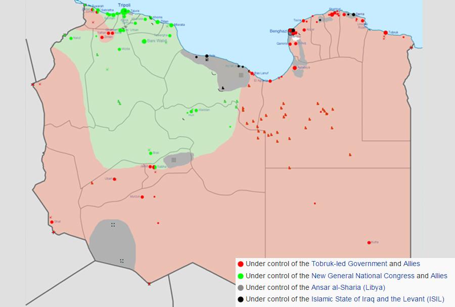 Razmere v Libiji