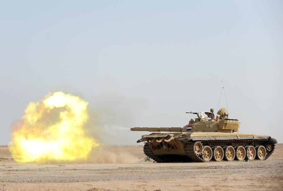 iraški tank T-72