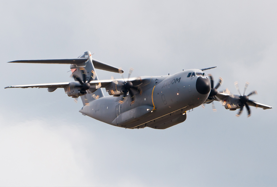 vojaško transportno letalo Airbus A400M
