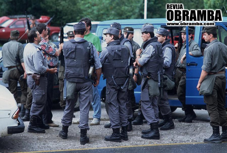 Vojna za Slovenijo: Dravograd in okolica, jun/jul 1991