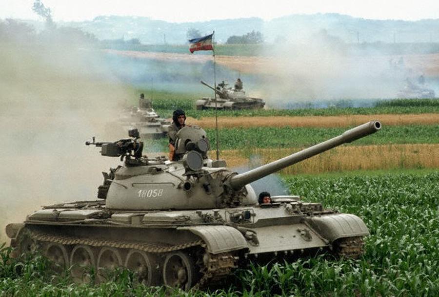 Jugoslovanski tank T-55 (JLA)
