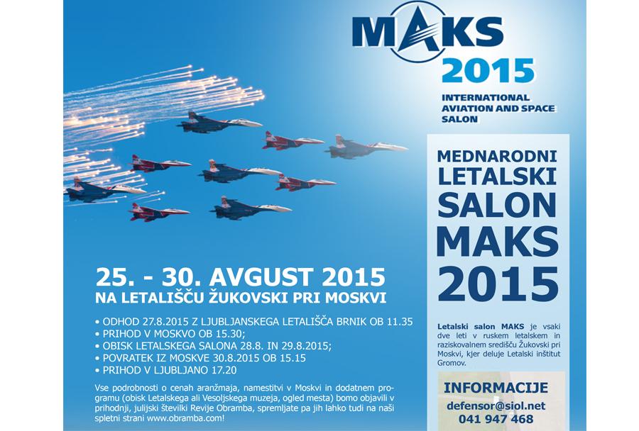 letalski salon MAKS 2015