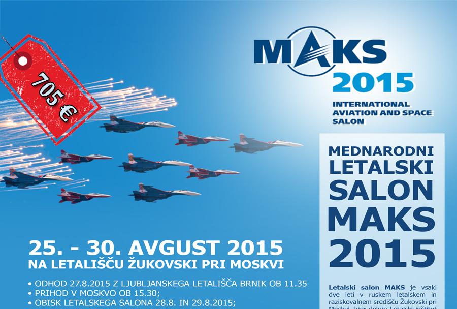 obisk letalskega salona MAKS 2015