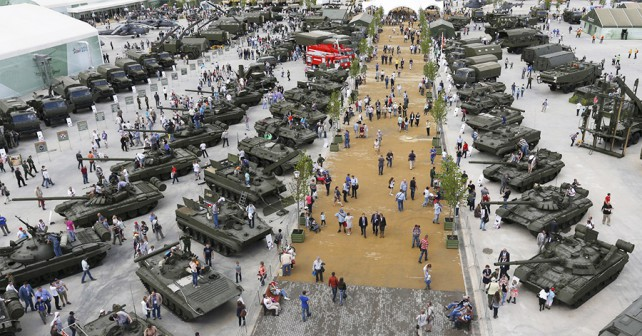 Ruski oborožitveni sejem Armada 2015